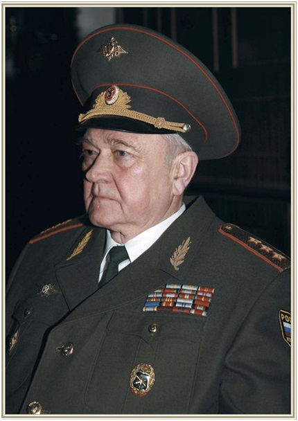 Генерал плышевский борис алексеевич